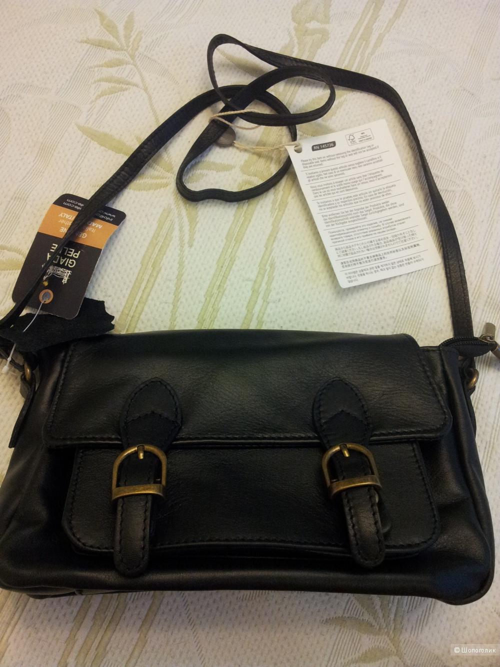 Кожаная сумка Giada Pelle
