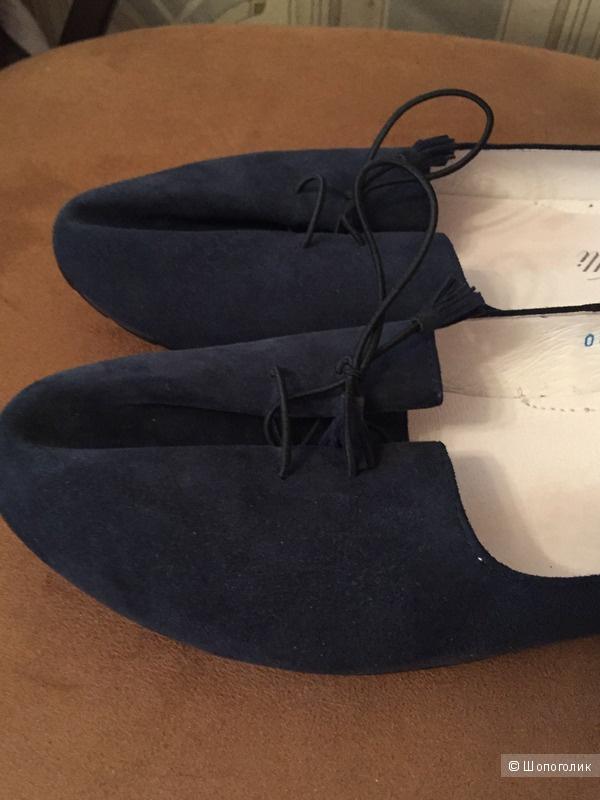 Замшевые балетки Nait-Velli, 39 RU/40 EU