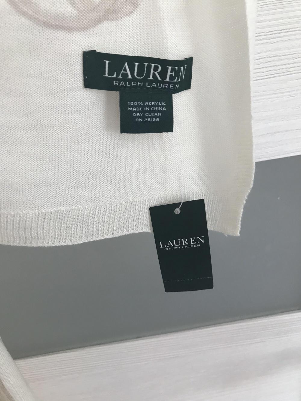 Палантин Ralph Lauren, размер one size