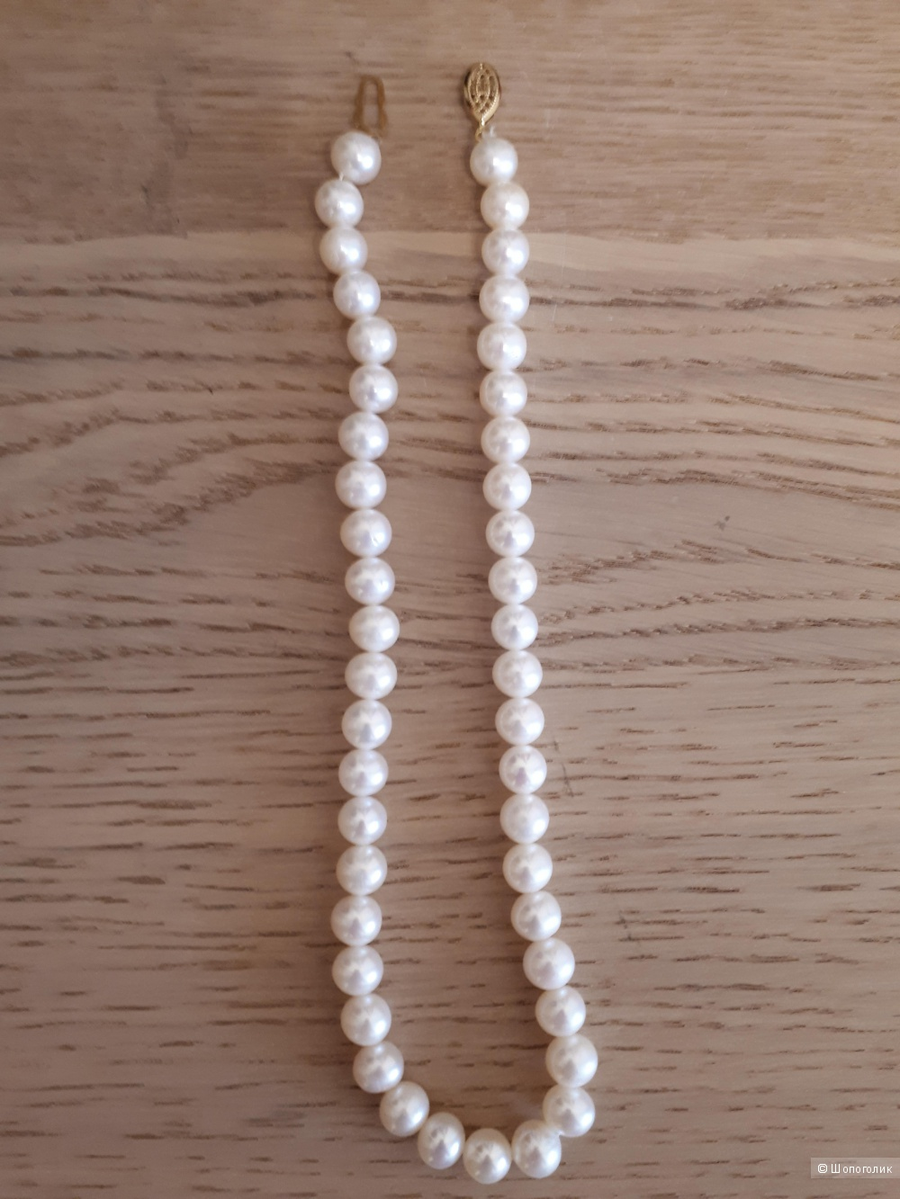 Жемчужное ожерелье, длина 40 см