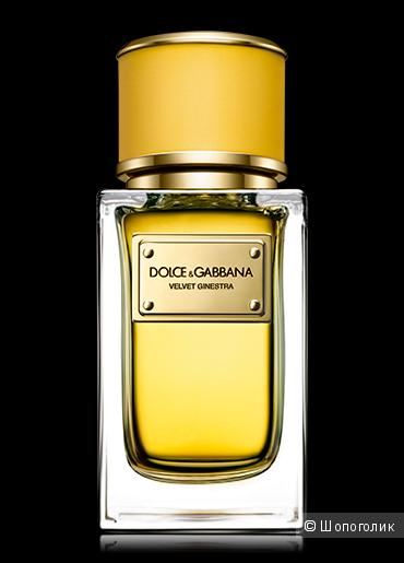 Парфюмерная вода Dolce&gabbana Velvet Ginestra, 50 мл