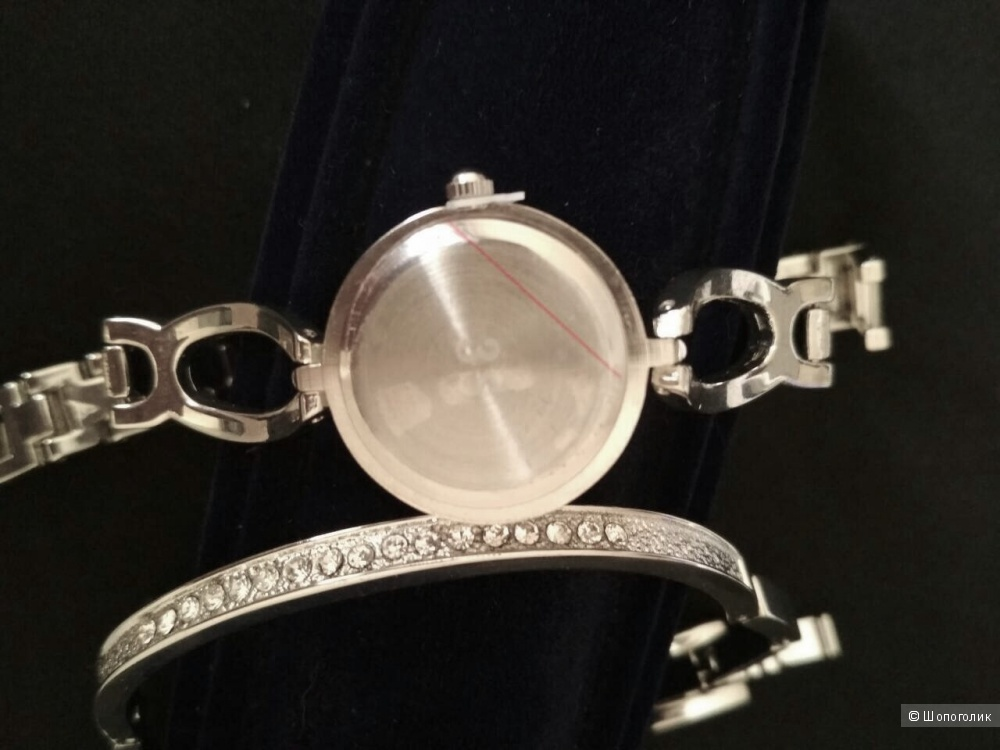 Комплект часы с браслетом , one size