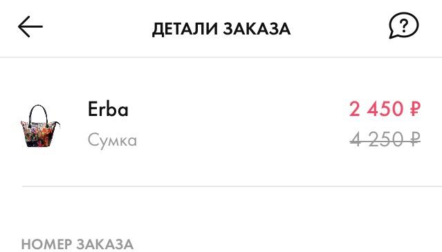 Сумка ERBA