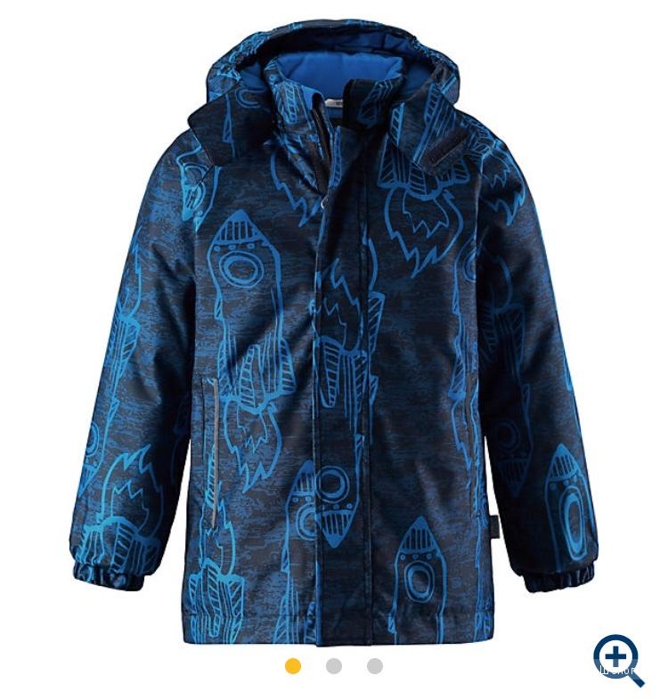 Куртка lassie by reima размер 122