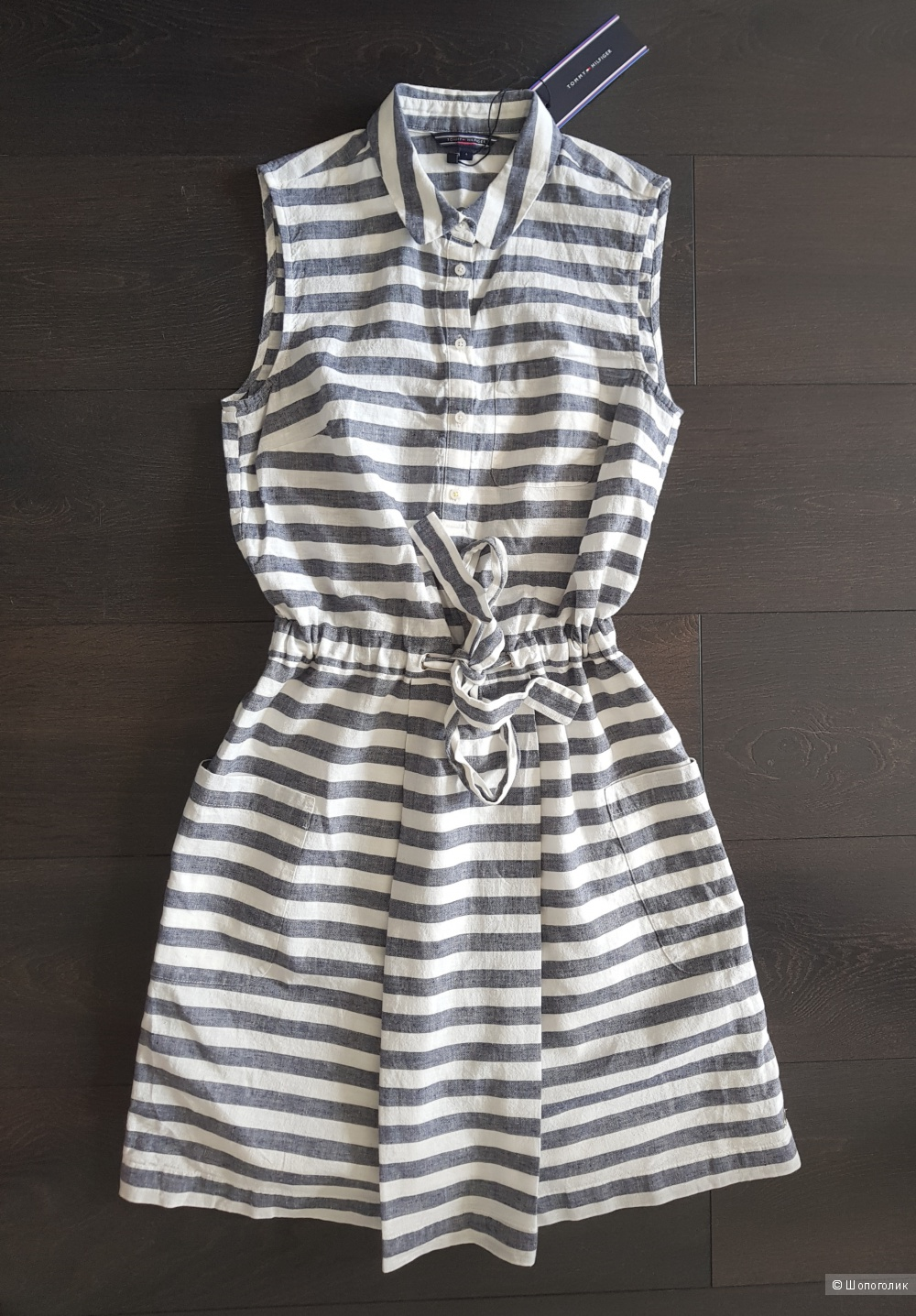 Tommy Hilfiger платье льняное XS
