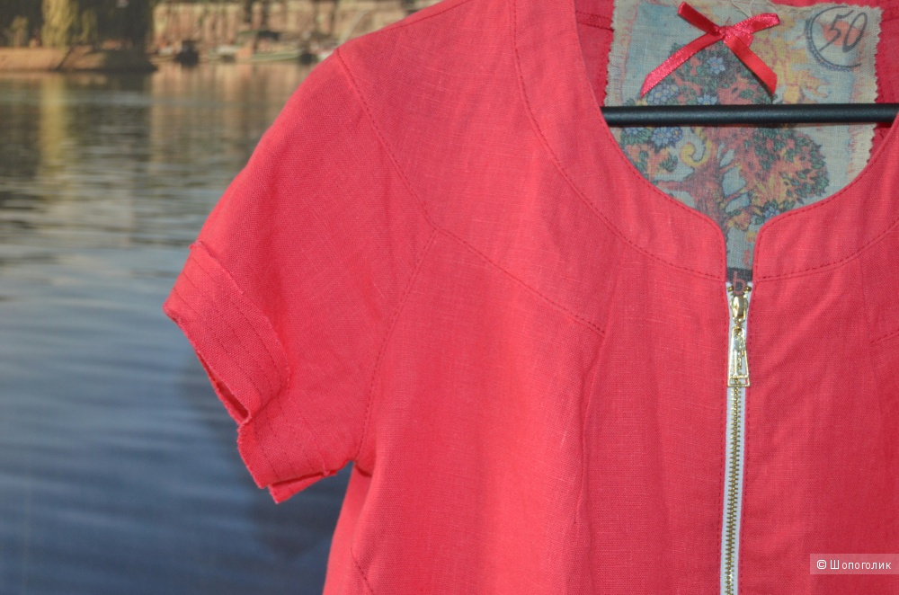 Блузка  ARTRIBBON  50 размер, малиновый цвет