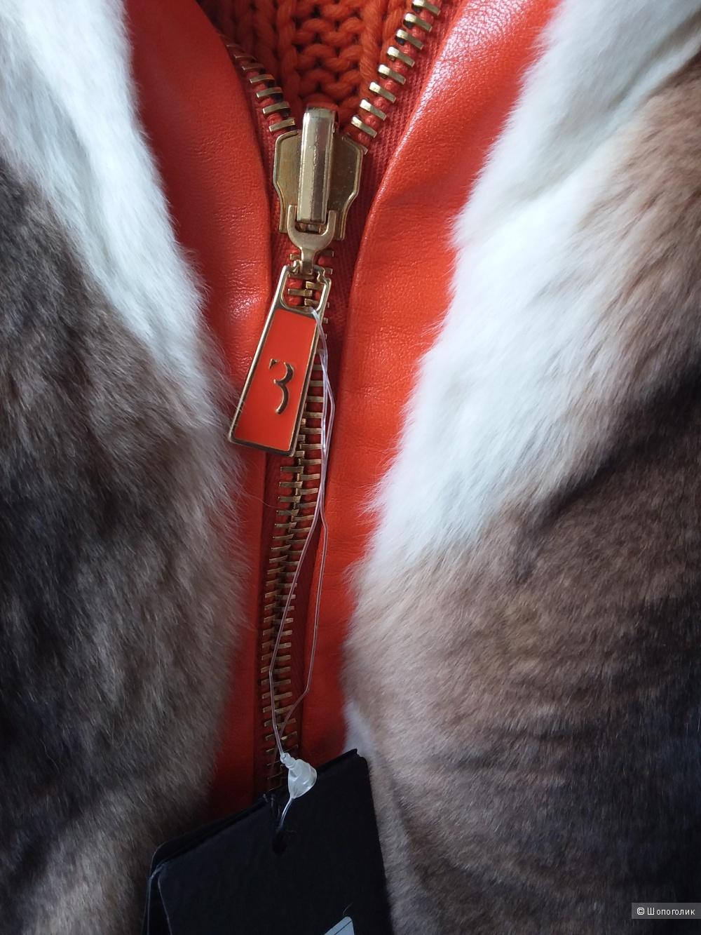 Мужская куртка Billionaire кашемир и мех размер М