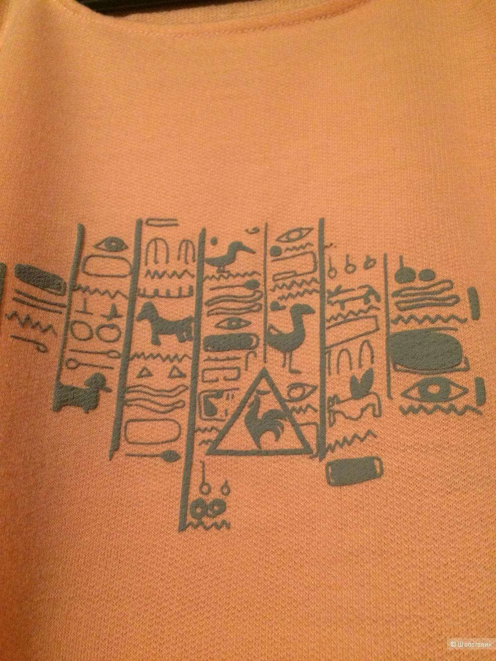 Толстовка-футболка le coq sportif размер 48-52