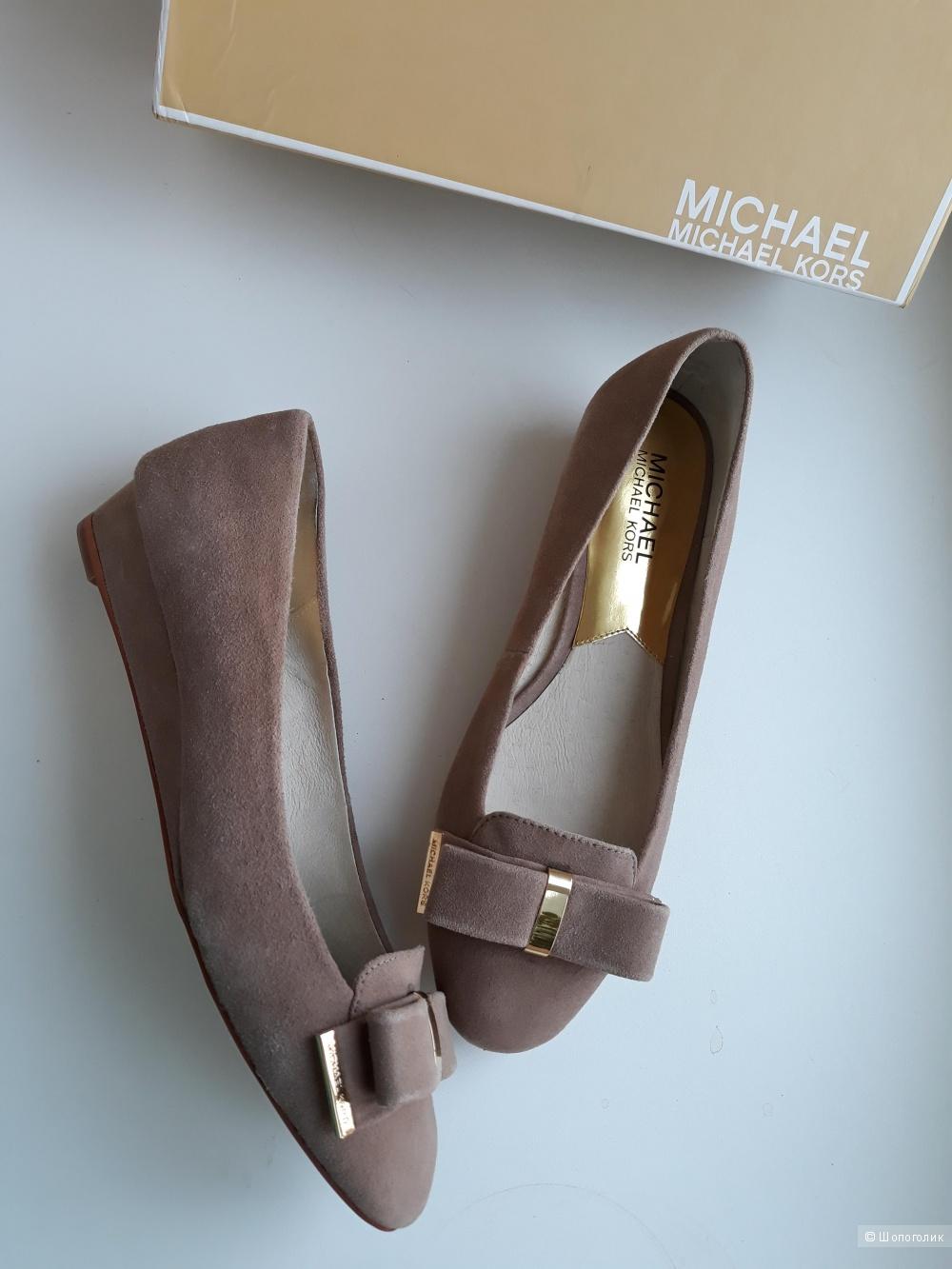 Замшевые балетки Michael Kors, 36-37 размер