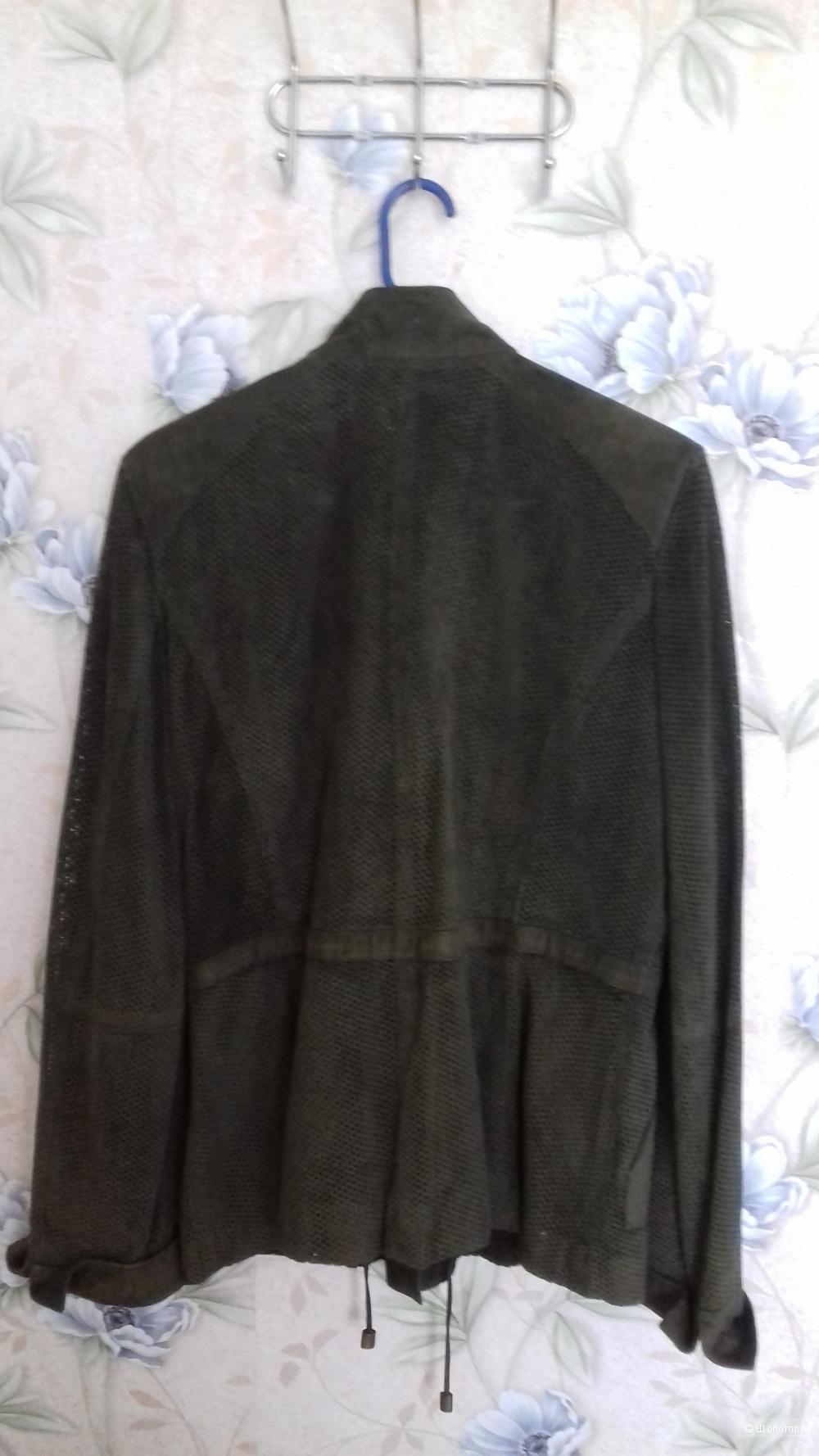 Замшевая куртка Monte Catini, р.48