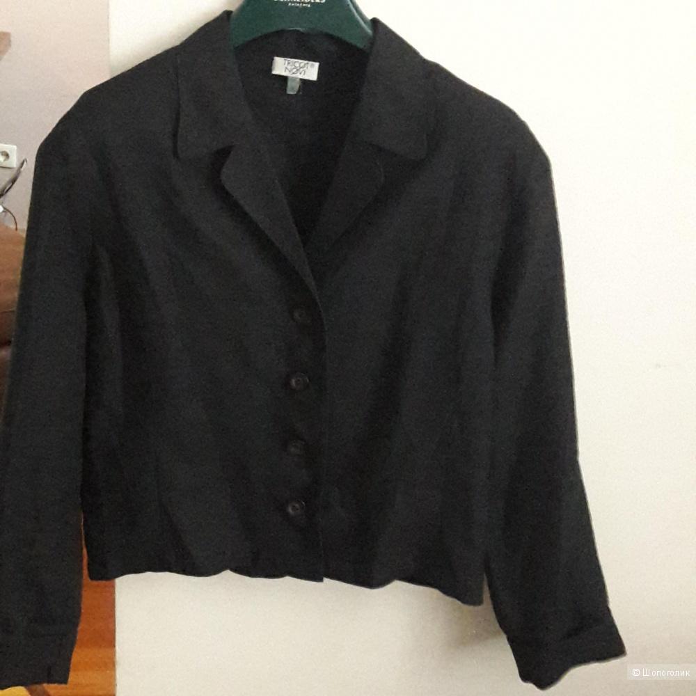 Льняной пиджак TRICOT размер m-l