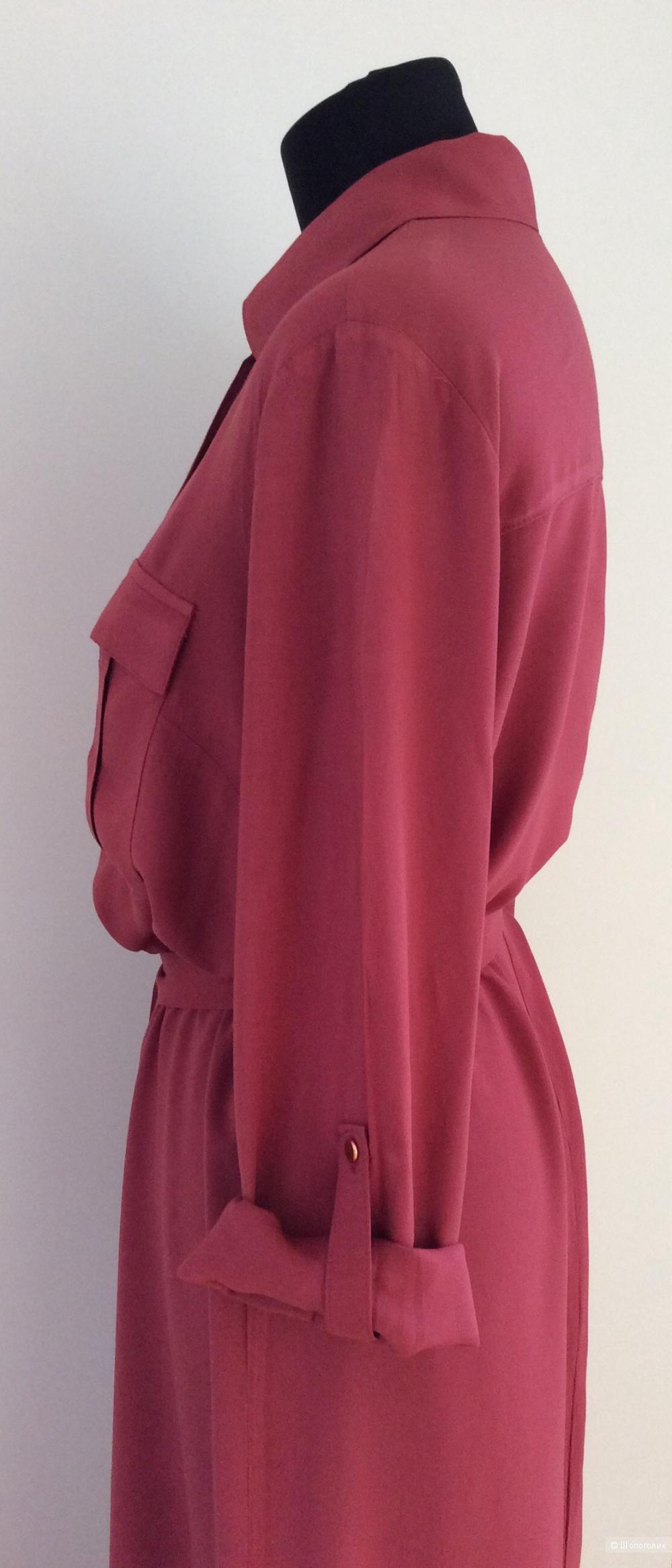 Длинное платье-рубашка LC Waikiki р.42 (на 46-48)