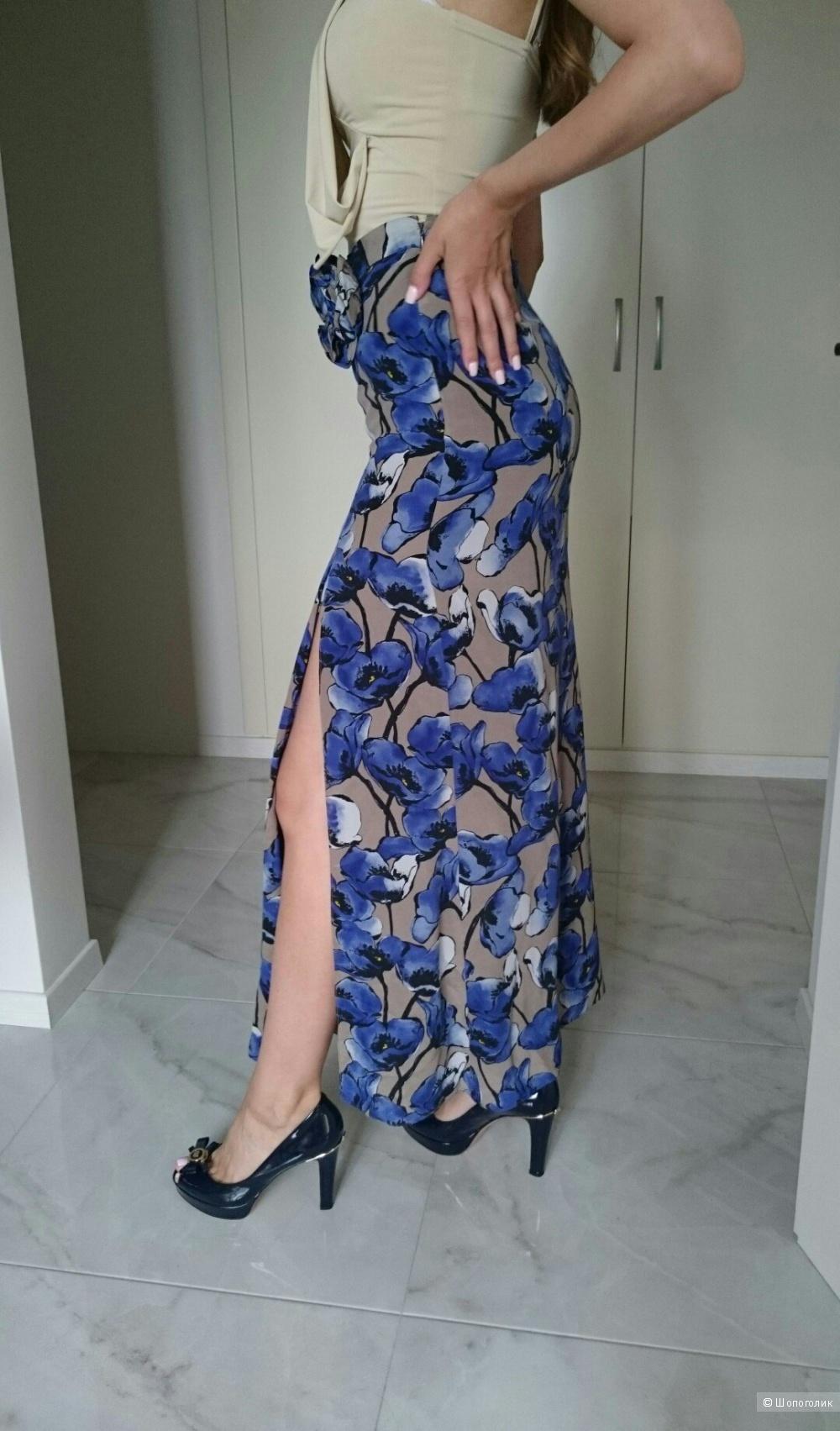 Шелковая юбка Moschino Cheap and Chic Оригинал , размер S