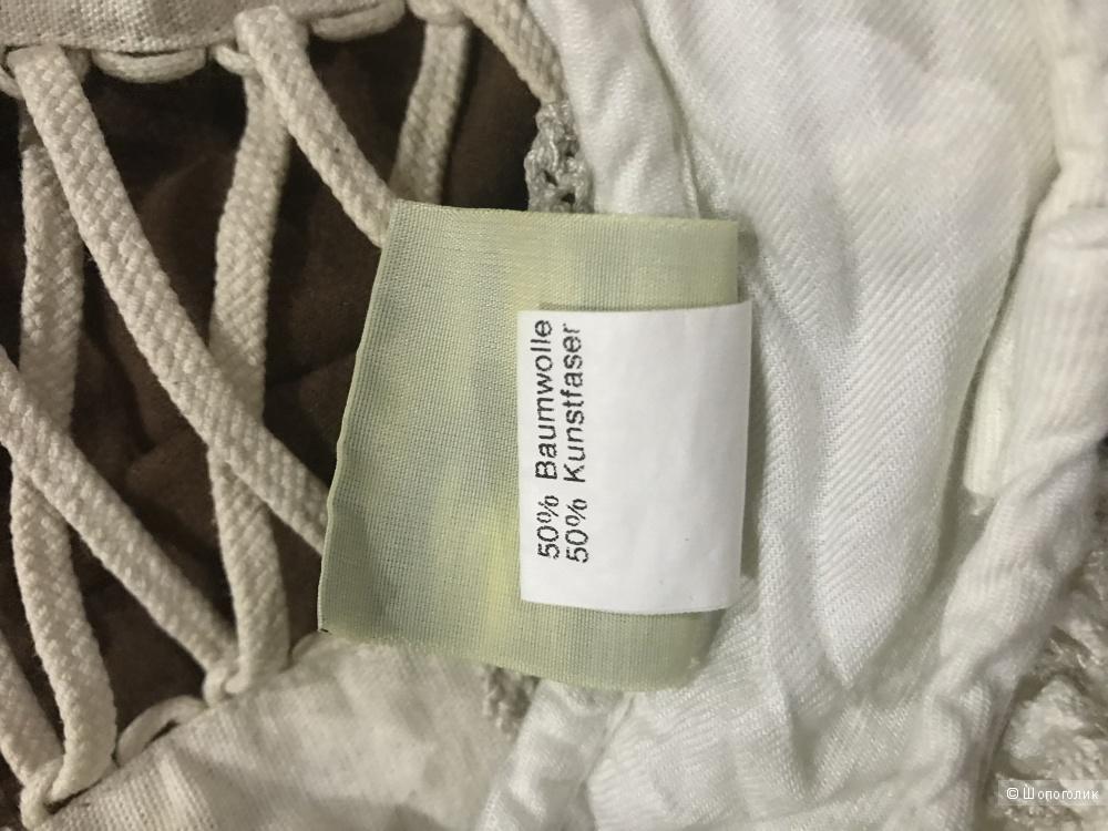 Льняной сарафан с блузкой usar crachten, р. 86-92