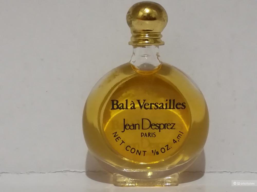 Миниатюра - Bal à Versailles Jean Desprez 4 мл (винтаж)