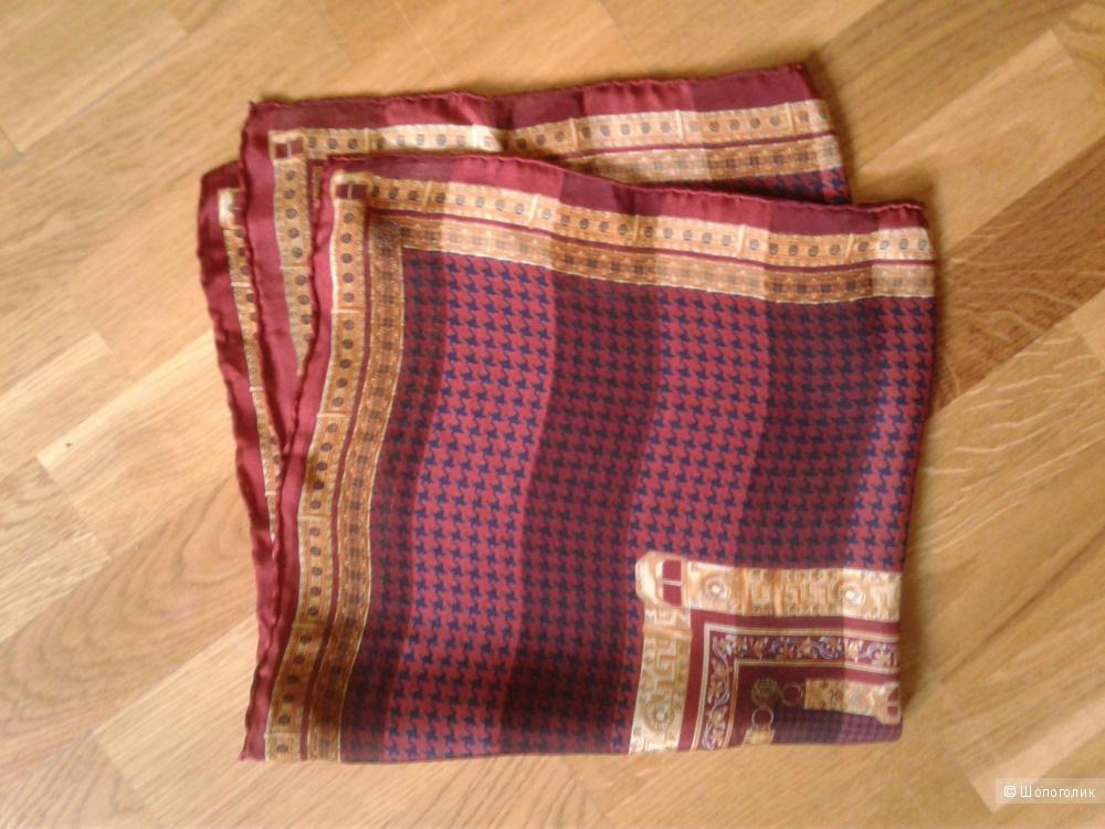 Шелковый платок no name 52x52