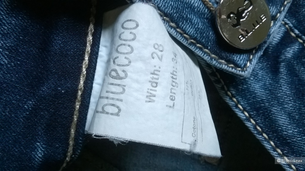 """Джинсы """"Bluecoco"""" р.28/s на 44"""