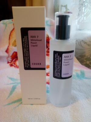 Cosrx, AHA 7, жидкость против белых угрей, 100 мл