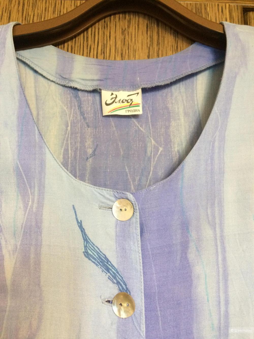 Платье-халат макси ELOD размер 50-52, в магазине Другой магазин — на ... 45f85f9dcba