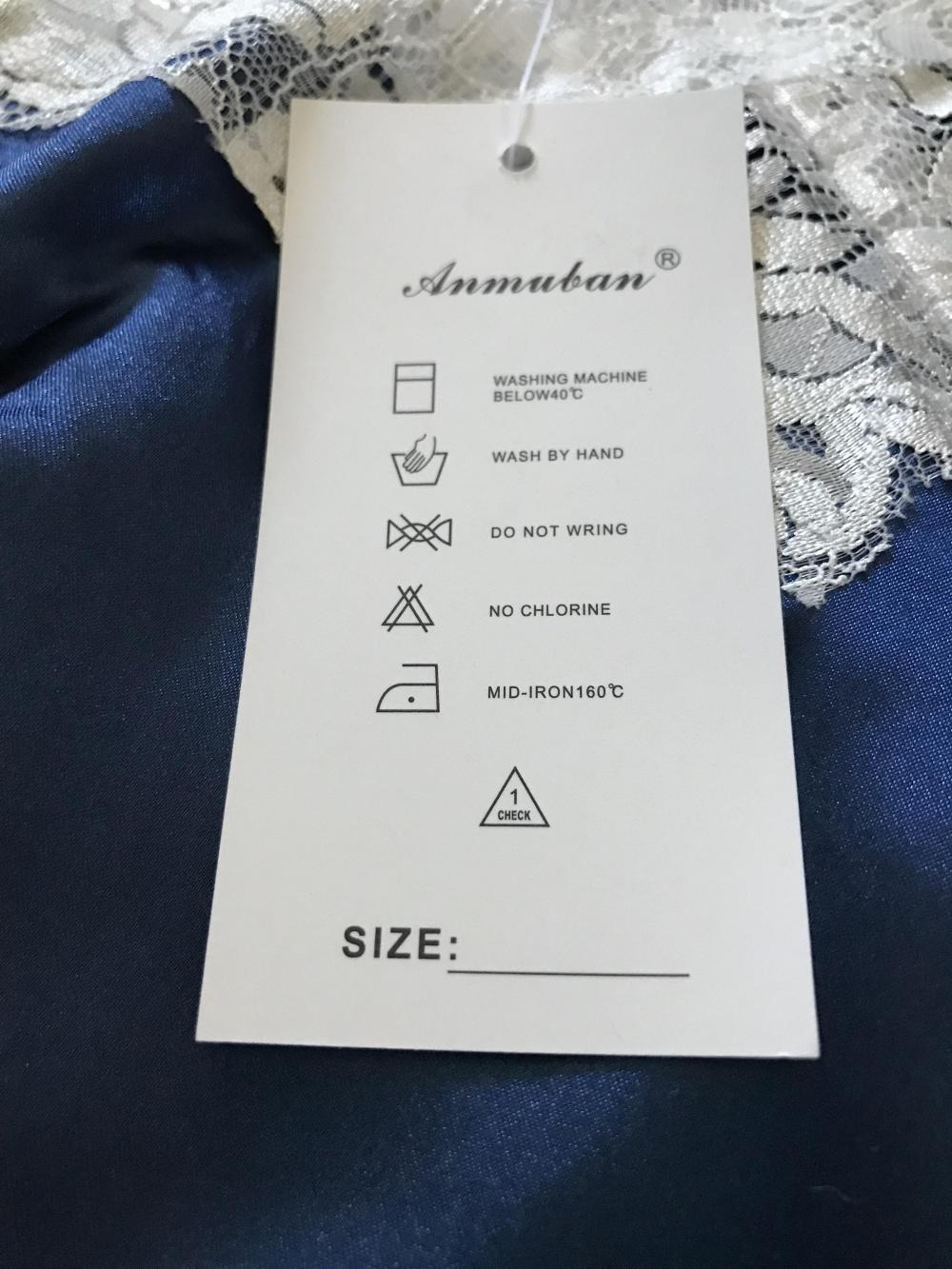 Новая пижама кружевная S
