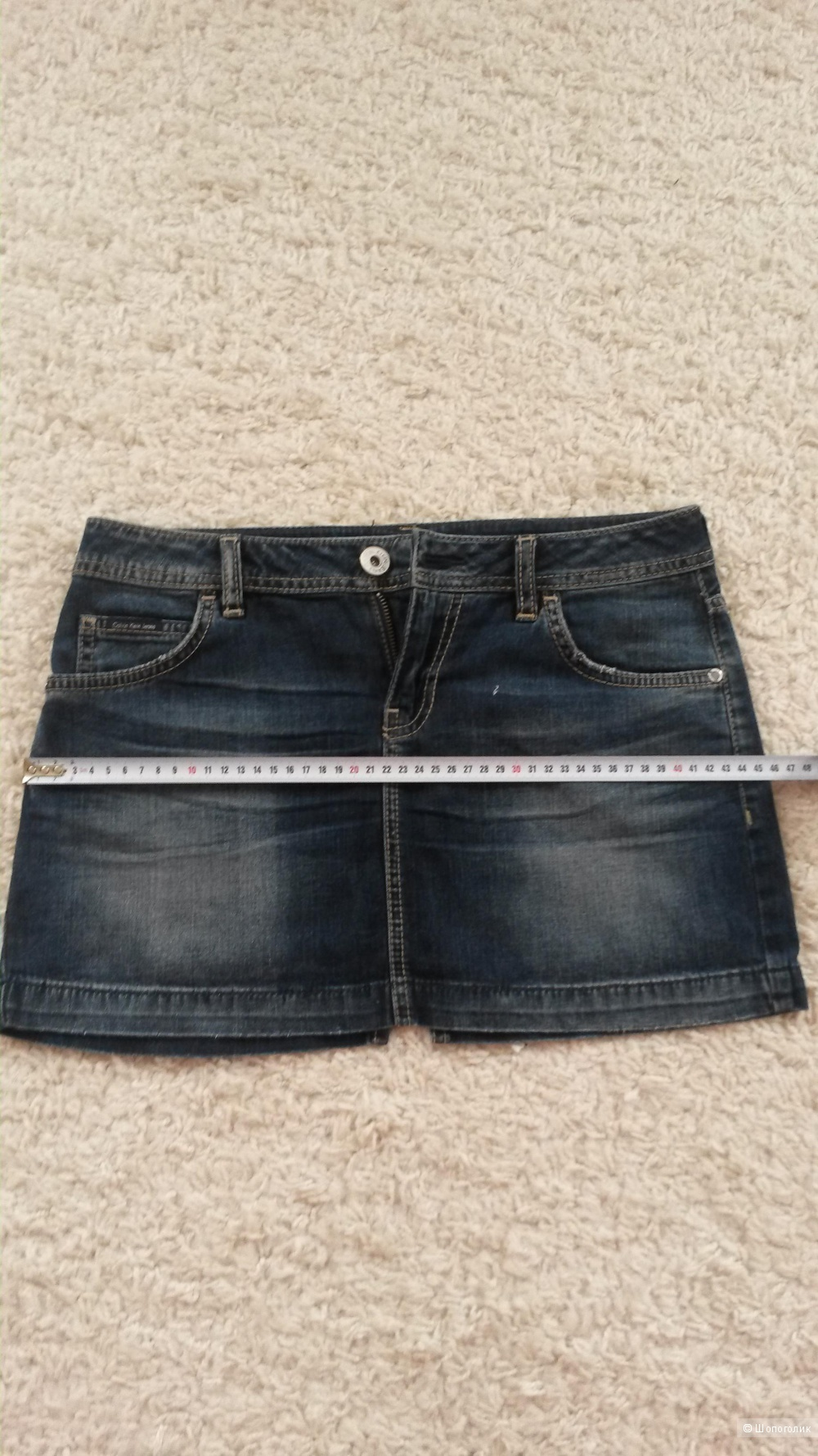 Юбка джинсовая Calvin Klein р.26