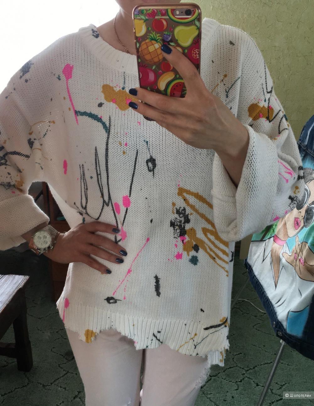 Zara свитер . Размер 46