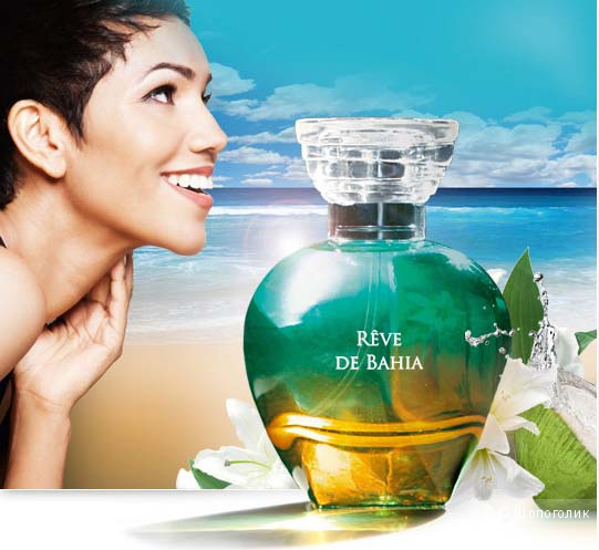 Туалетная Вода Reve de Bahia,ID Parfums,б/у,60 мл