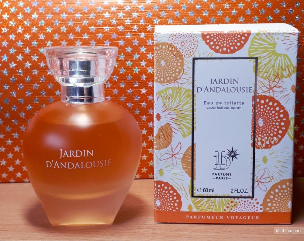 Туалетная вода - JARDIN D'ANDALOUSIE,ID Parfums,б/у, 60 мл