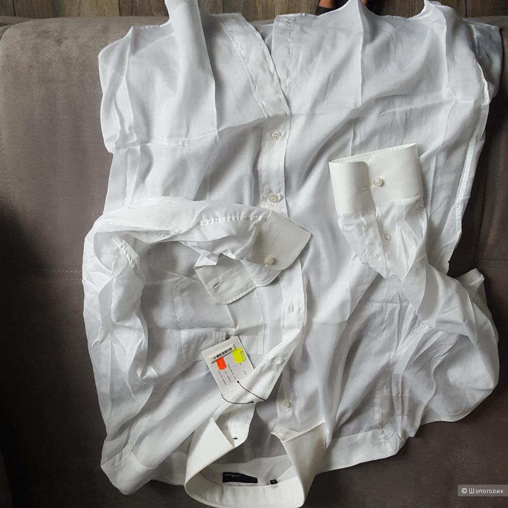 Мужская батистовая  рубашка фирмы  Dupont 44( воротник)