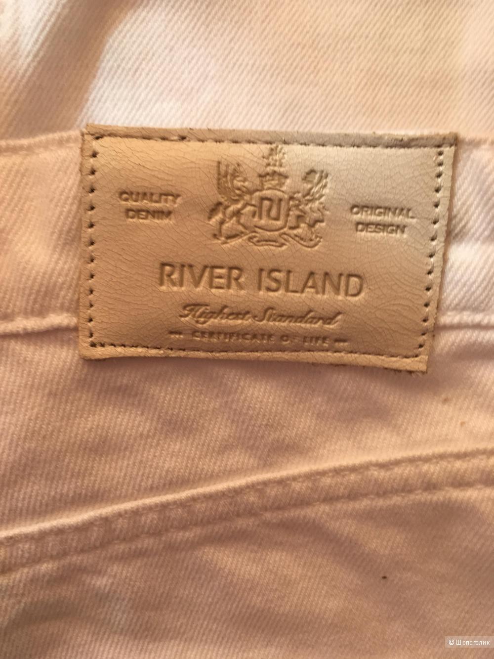 Джинсы бойфренды River Island, 46-48 размер