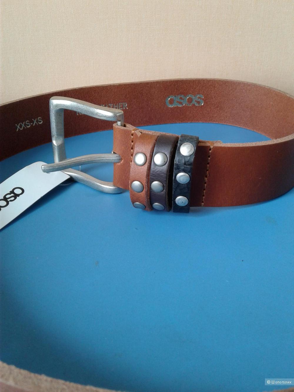 Кожаный ремень ASOS one size
