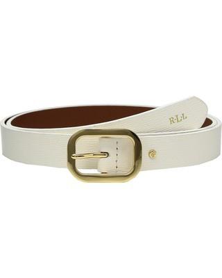 Ремень женский Ralph Lauren Classics Saffiano Dress Belt размер S=90cm
