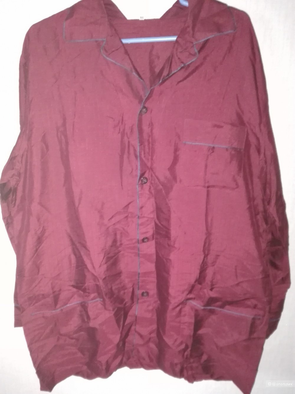 Пижама шелк, мужская р-р 50 (италия)