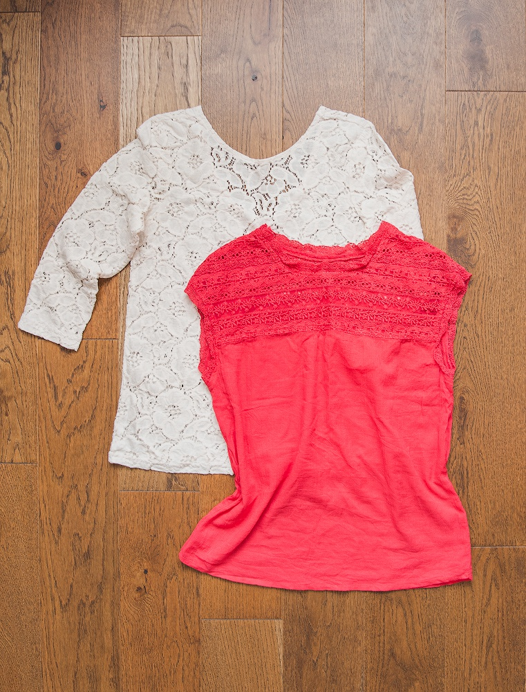 Сет: кружевная блуза Pull&Bear + топ Mango XS-S