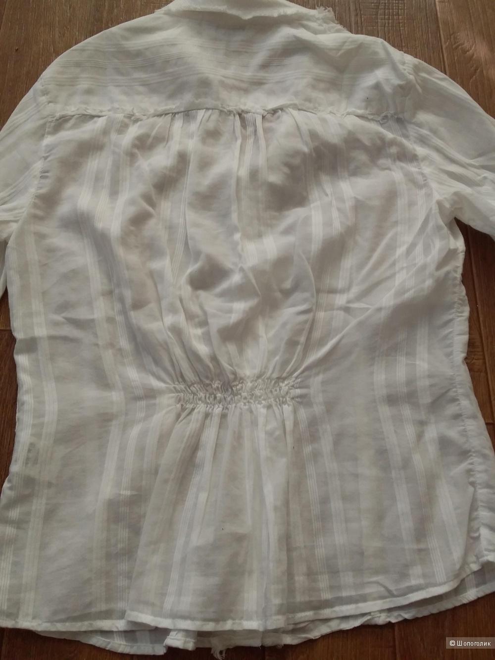 Блуза-рубашка next, р-р 48