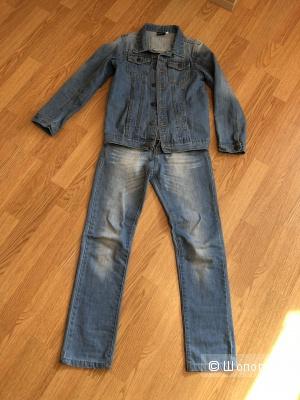 Джинсовый костюм Futurino, размер 146