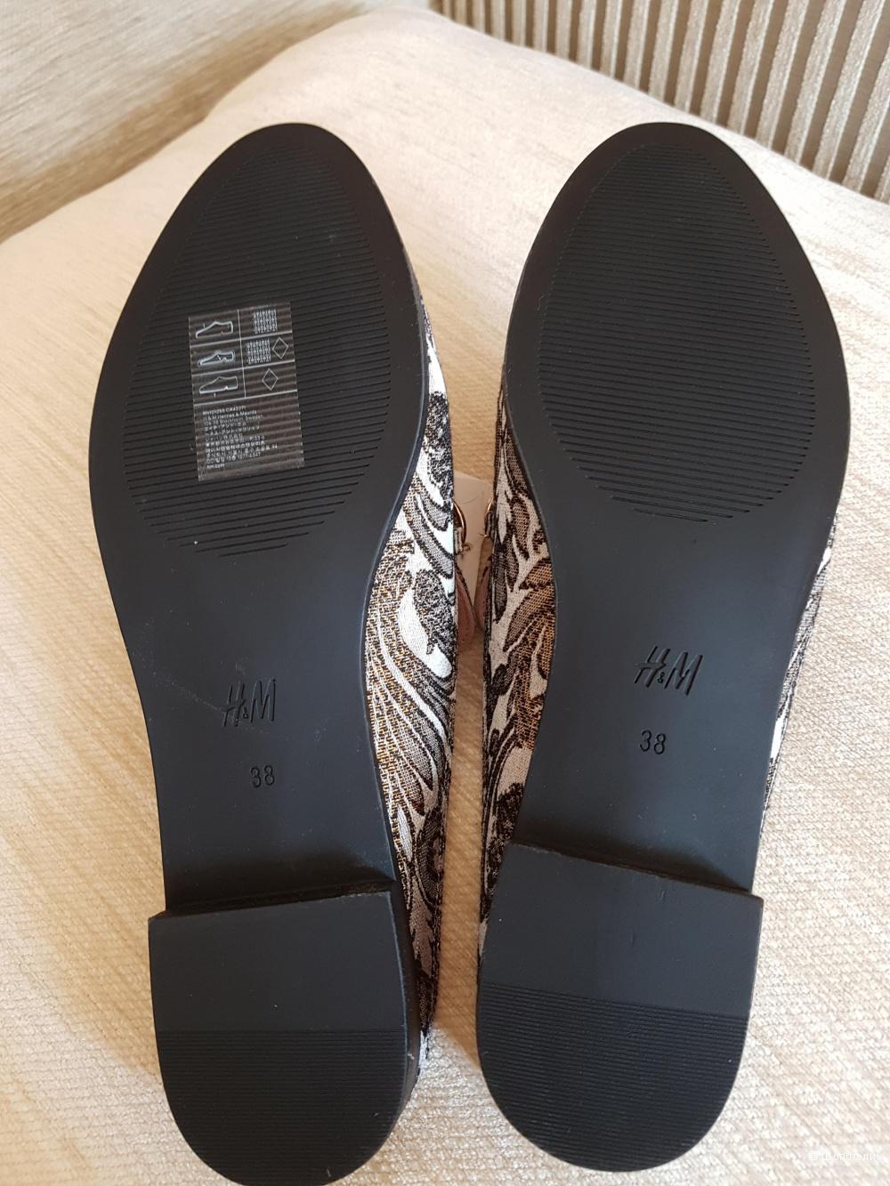 Мюли H&M, 38 размер