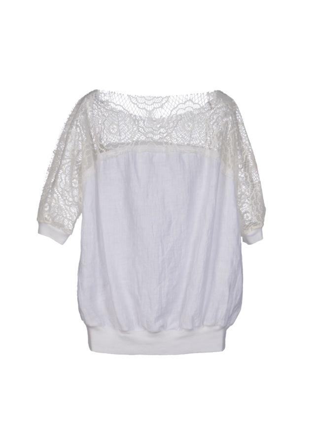 Блуза с кружевом LIVIANA CONTIi 46it (на 46-48 Rus)