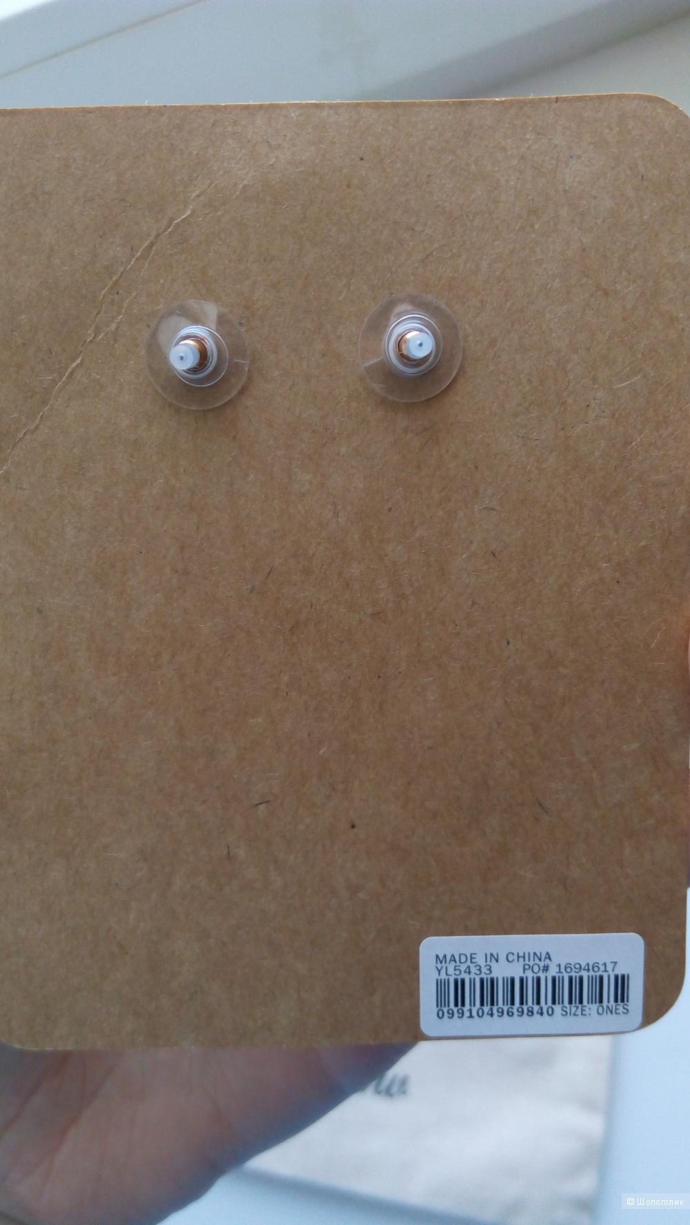 Сережки jcrew