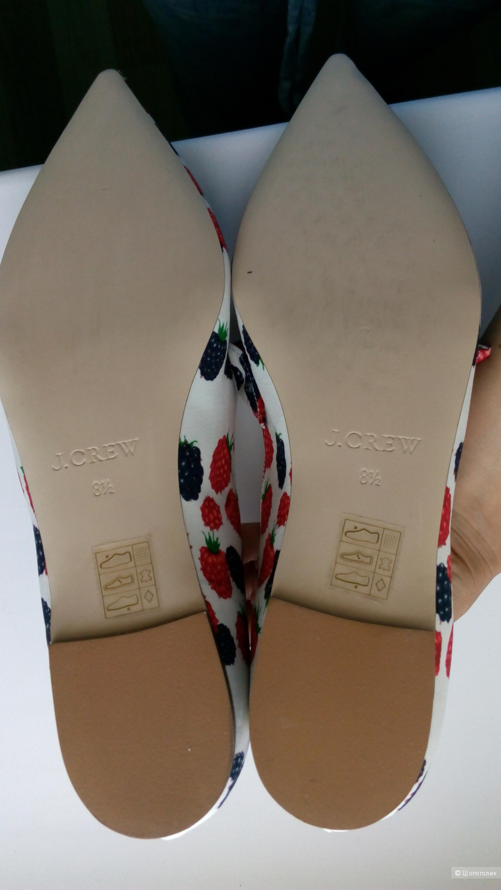 Туфли jcrew размер 8.5