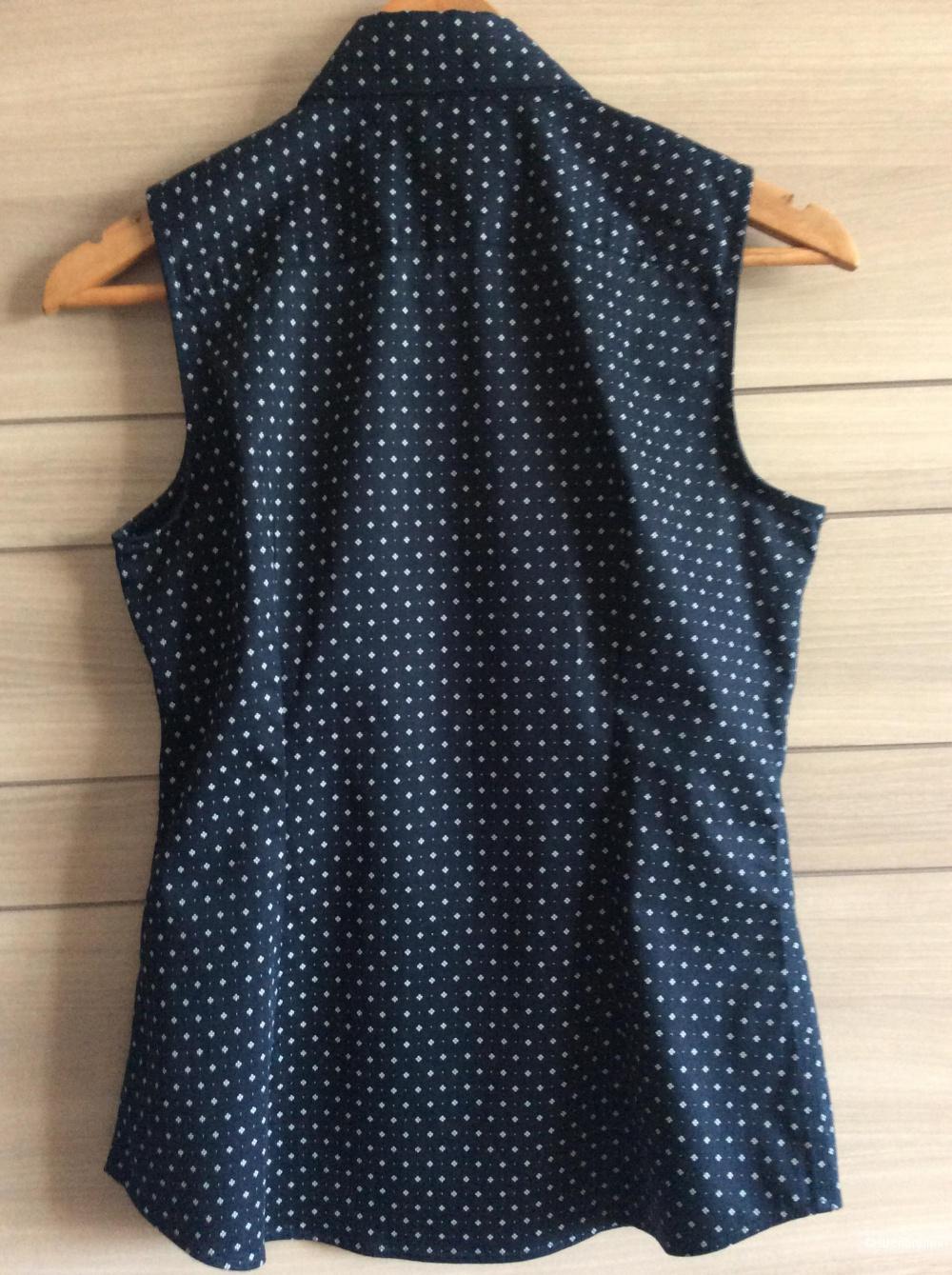 Рубашка Non-iron  без рукавов Banana Republic р-р 42-44