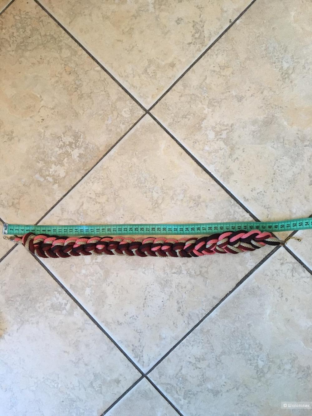 Плетеное колье Nerti krepsiai