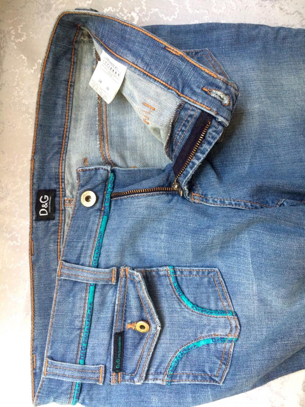 Джинсы Dolce Gabbana DG,размер 28