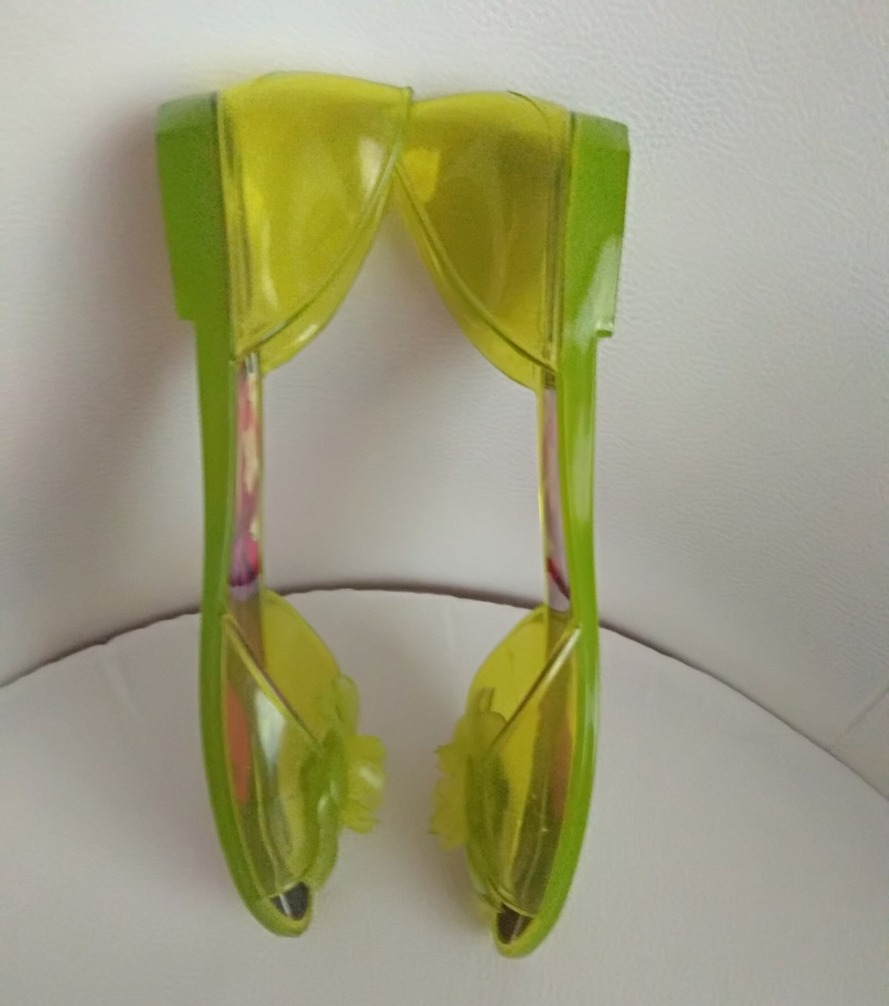 Балетки = сандалии FURLA, размер 37, на длину стопы до 24 см