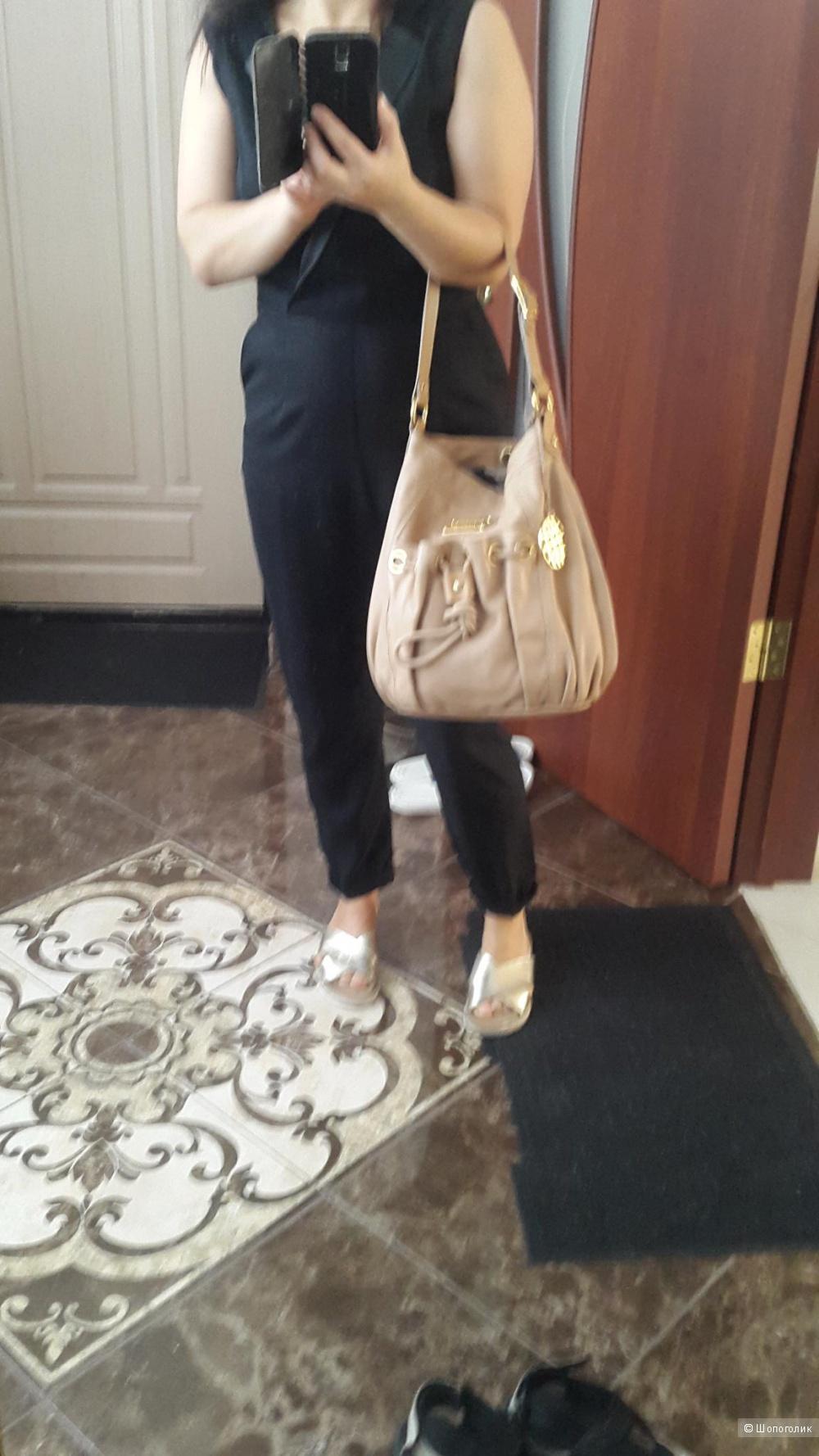 Кожаная сумка Dumond