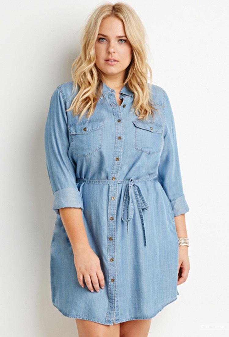 """Платье-рубашка """"Concept Club"""", размер XL"""