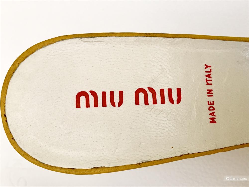 Мюли Miu Miu, размер 36