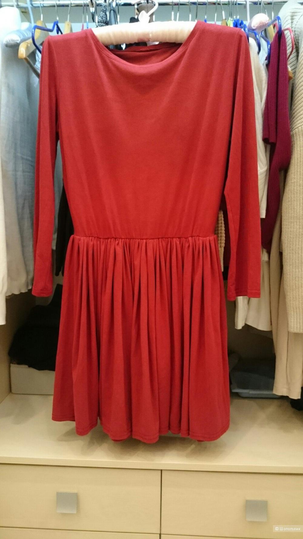 Замшевое платье Размер 42