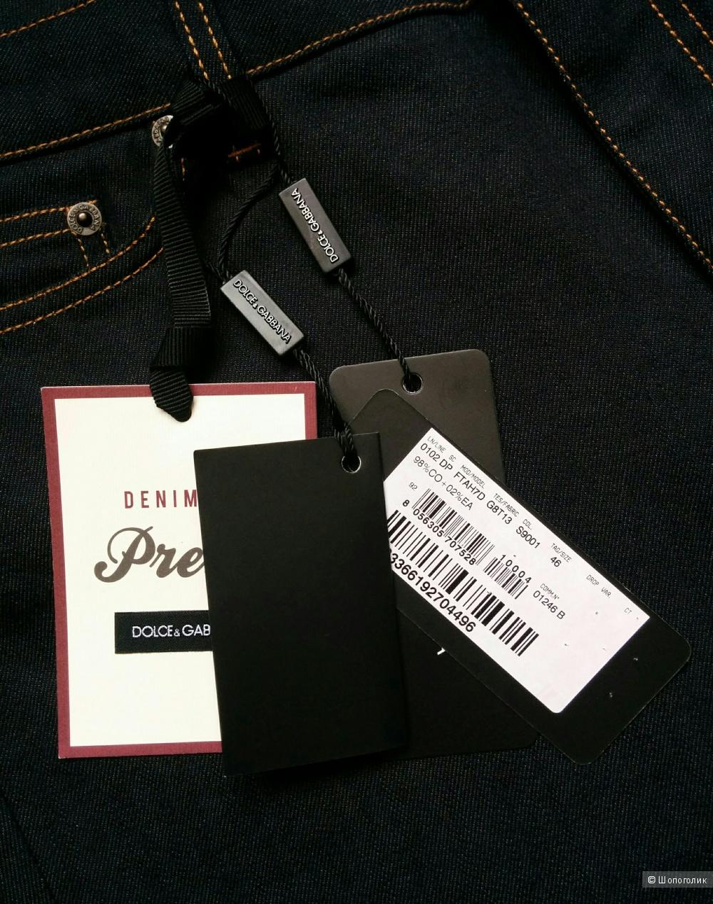 Джинсы от Dolce&Gabbana ,размер 46 ит.