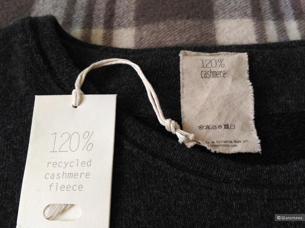 Джемпер 120% Cashmere, M, большемерит
